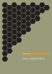 COAL: LIQUID FUELS - World Coal Association