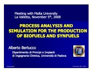 Process Analysis and Simulation for the Production of - MIEMA