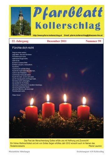 22 Jahrgang Dezember 2011 Nummer 59