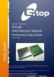 GlobalTop-Gtm-g6-Preliminary Datasheet-V0B.pdf - Trenz Electronic