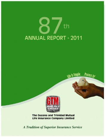 GTM Life Report.pmd - GTM Group of Insurance Companies