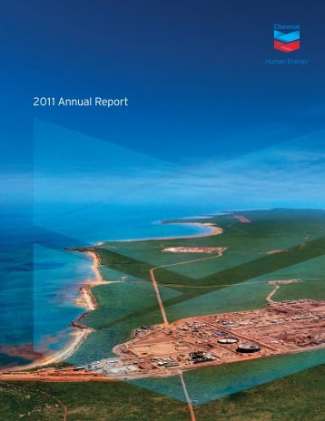 Annual Report 2011 Chevron