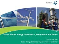 South African energy landscape – past present and future - Eclareon