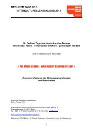 » 775 JAHRE BERLIN – WER MACHT GESCHICHTE(N)? «