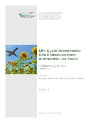 Life Cycle Greenhouse Gas Emissions from Alternative Jet Fuels - MIT
