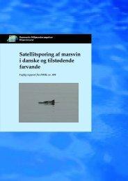 Satellitsporing af marsvin i danske og tilstødende farvande