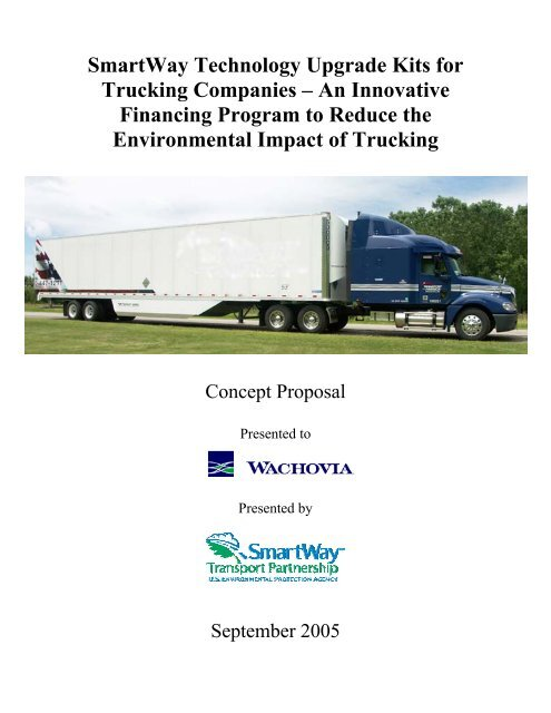 SmartWay Technology Upgrade Kits for Trucking Companies – An