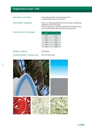 Display Deva Cream - SCR