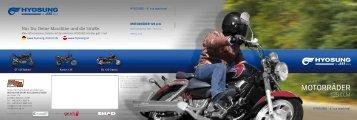 Motorräder - Hyosung