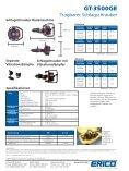 GT-3500GE Spezifikationen Schlagschrauber Basismaschine - Erico - Seite 2
