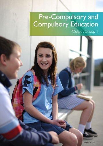 Pre-Compulsory and Compulsory Education