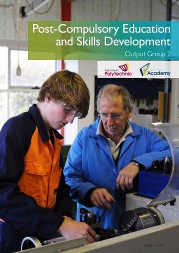 Post-Compulsory Education and Skills Development