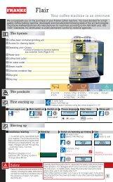 flair manual en(2.15 MB, PDF) - Franke