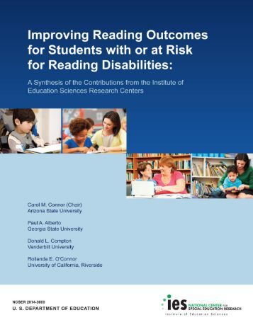 Improving Reading Outcomes for Students with or at Risk for Reading Disabilities