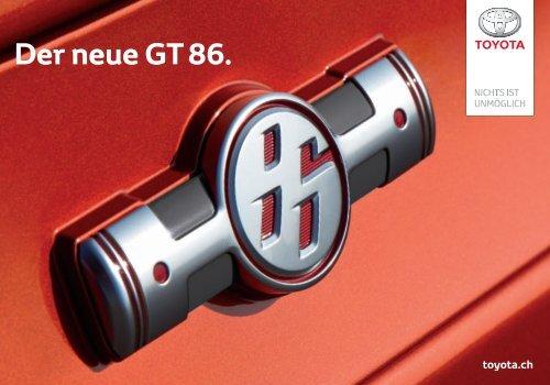 Der neue GT 86. - Toyota Schweiz