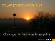 SOLAR ENERGY FACILITIES