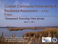 Coastal Community Vulnerability & Resilience Assessment –