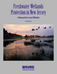 Freshwater Wetlands Protection in New Jersey