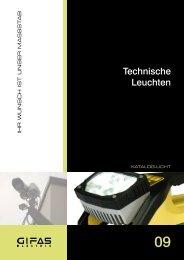 Technische Leuchten - GIFAS Electric GmbH