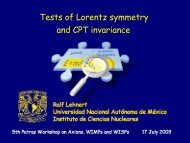 Tests of Lorentz symmetry and CPT invariance