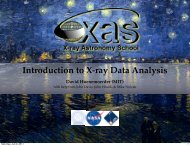 Introduction to X-ray Data Analysis