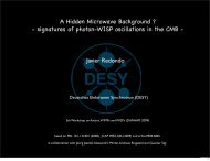 Hidden CMB - 5th Patras Workshop on Axions, WIMPs and WISPs
