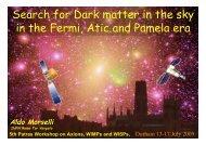 in the Fermi Atic and Pamela era