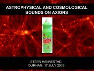 ASTROPHYSICAL AND COSMOLOGICAL BOUNDS ON AXIONS
