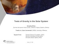Tests of Gravity in the Solar System