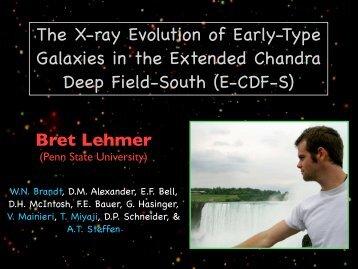 Lehmer - Chandra X-Ray Observatory