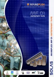 MF01 Antispray Tape flyer & technical data sheet