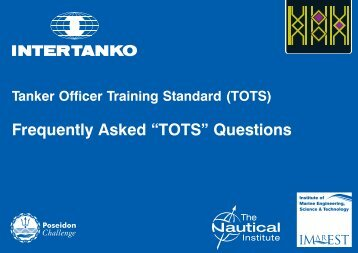"Frequently Asked ""TOTS"" Questions"