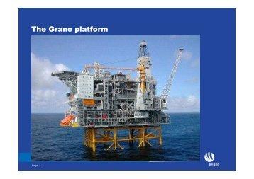 The Grane platform