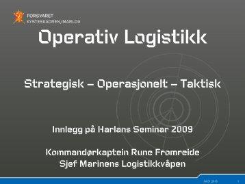 Operativ Logistikk