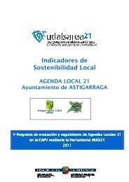 Indicadores de Sostenibilidad Local