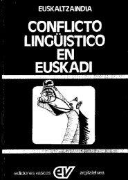 LINOÜISTICO EN EUSKADI