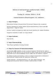 Referat af ekstraordinært medlemsmøde i AAB21 ... - AAB Afdeling 21