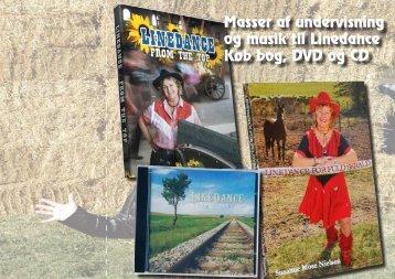 Masser af undervisning og musik til Linedance Køb bog DVD og CD