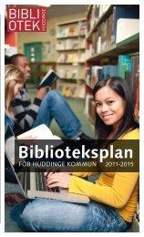 Biblioteksplan
