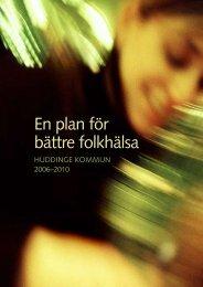 En plan för bättre folkhälsa