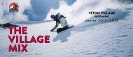 What's New In Teton Village - THE TETON VILLAGE MIX