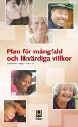Plan för mångfald och likvärdiga villkor