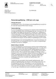 Ramavtalsuppföljning – HVB barn och unga