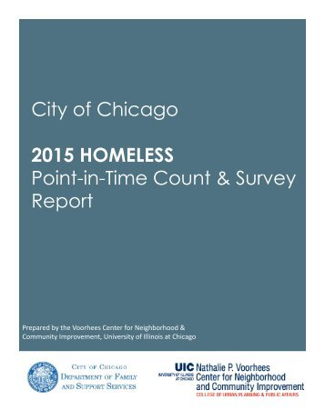 2015 Homeless Point-in-Time Count & Survey Report