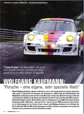 """Flying Piranha"""": Der Westerwälder - hier auf der Nürburgring ..."""