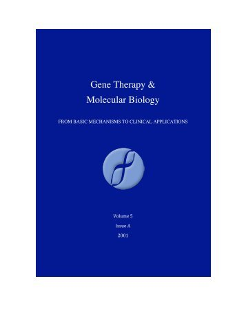 download - Gene therapy & Molecular Biology
