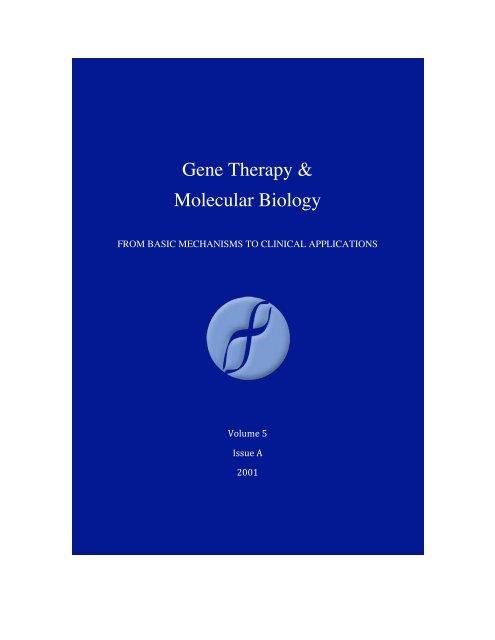 download - Gene therapy & Molecular Biology