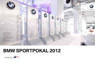 BMW Sportpokal 2012 - BMW Motorsport