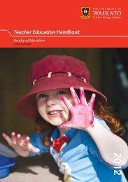 Teacher Education Handbook 2012 - Faculty of Education - The ...