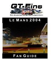 GT-EINS.DE FanGuide 24h Stunden von LeMans 2004